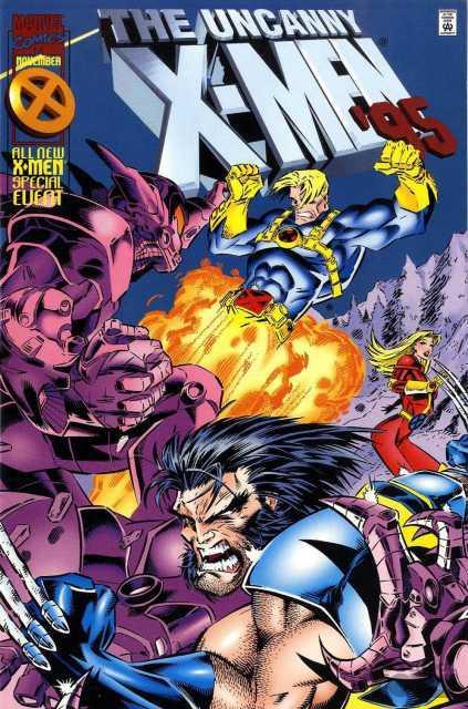 The Uncanny X Men Annual 95 Marvel Comics Old School Toys